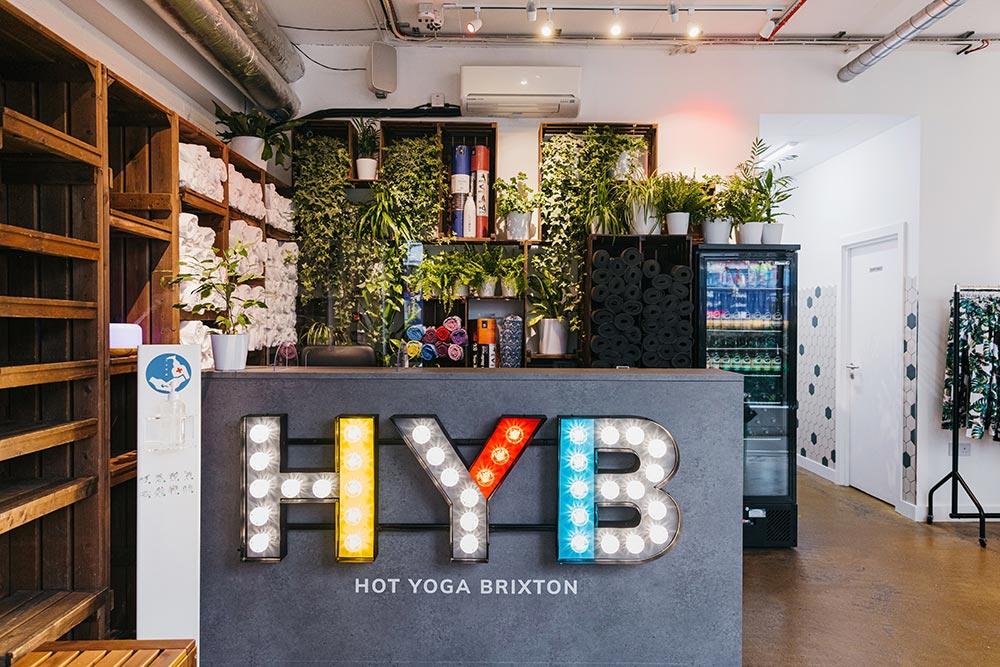 Hot yoga studio, Brixton